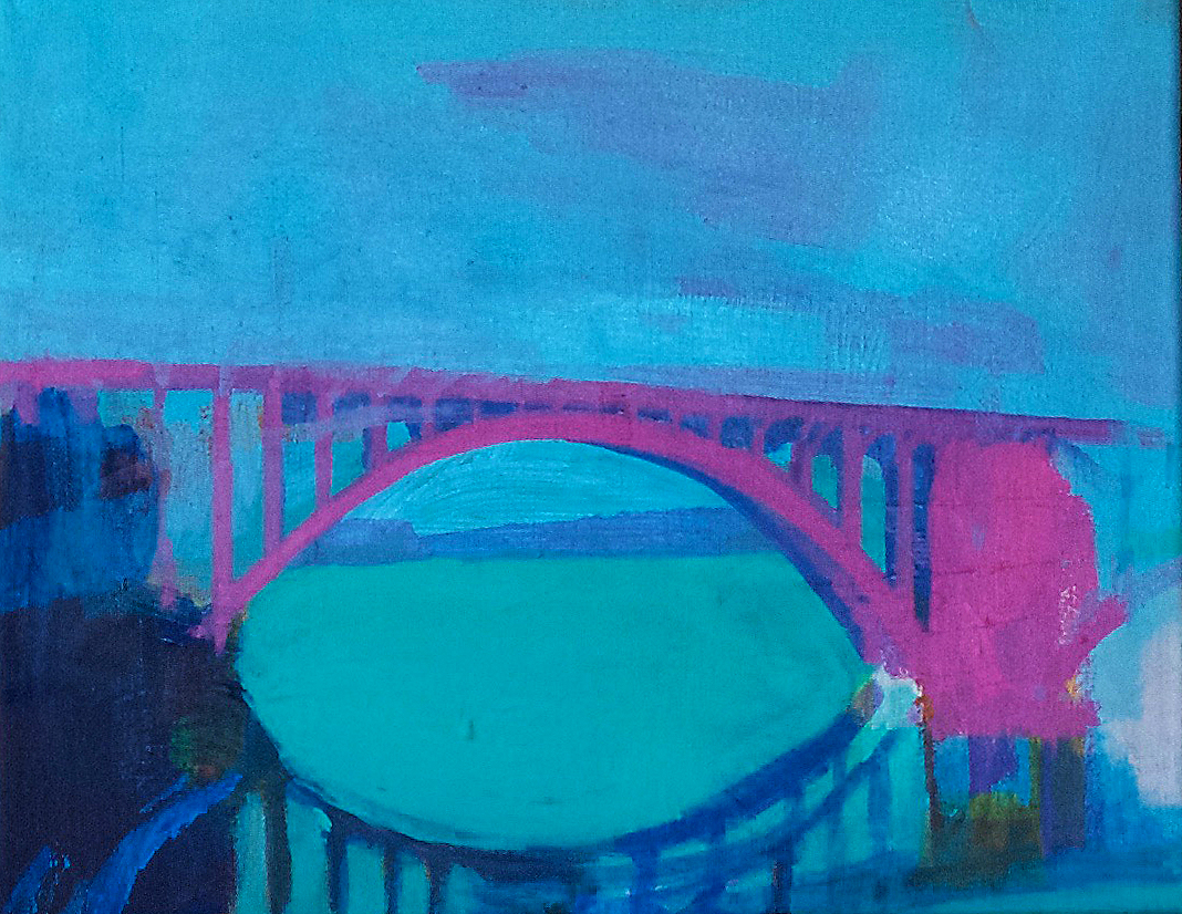 If Light Were A Bridge 12x16